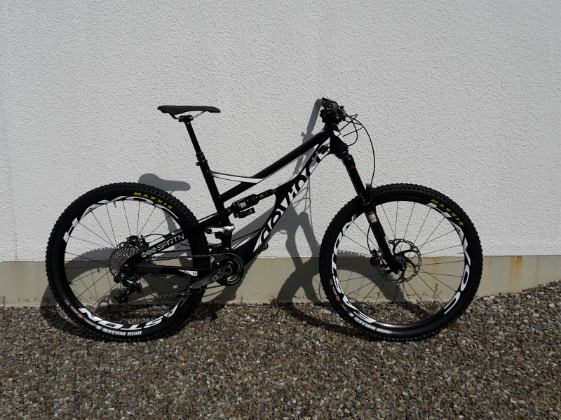 devinci spartan carbon easton xx1