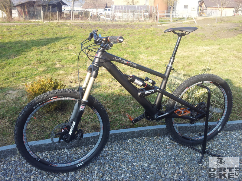 liteville 601 rock shox vivid air mk2 2013 easton havoc