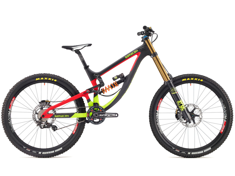saracen myst 2017 carbon team